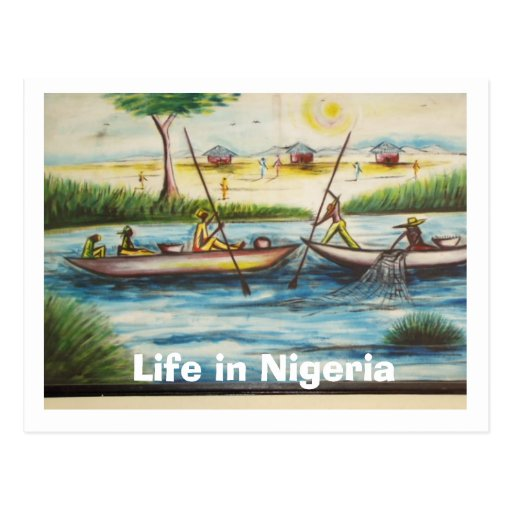 Welcome To Nigeria Postcard