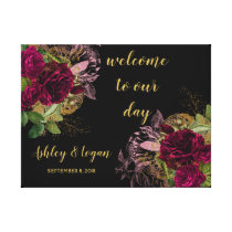 Welcome to our Day Wedding Sign