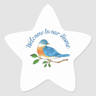 WELCOME TO OUR HOME STAR STICKERS