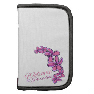 Welcome To Paradise Folio Planners