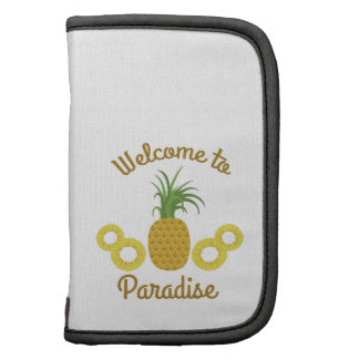 Welcome To Paradise Organizers