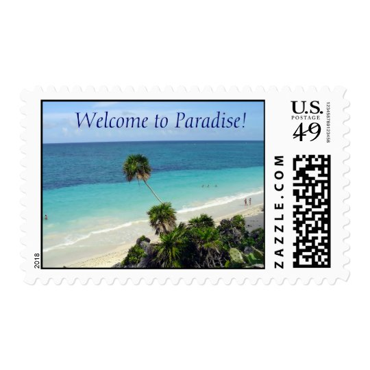 Welcome to Paradise! Postage