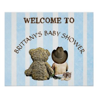 Welcome to Personalized Baby Shower Poster Banner