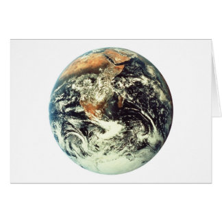welcome to planet earth greeting card