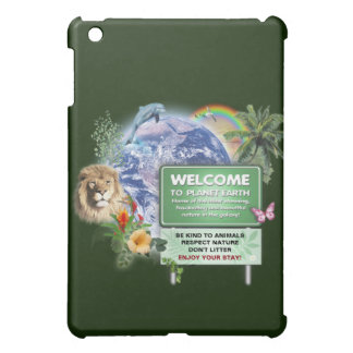 Welcome to Planet Earth iPad Mini Cases