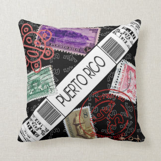 Welcome to Puerto Rico Throw Pillow