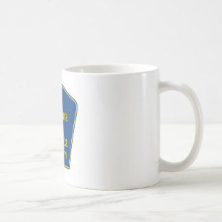 Welcome To Rat Race County (Signs) Coffee Mug