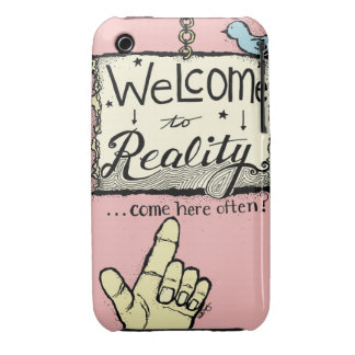 Welcome to Reality iPhone Case iPhone 3 Covers