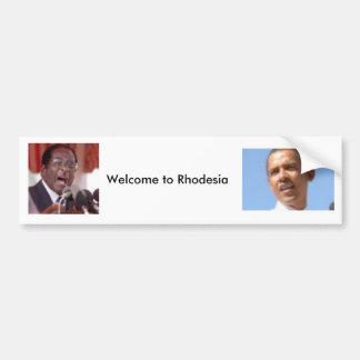 Welcome to Rhodesia Bumper Sticker