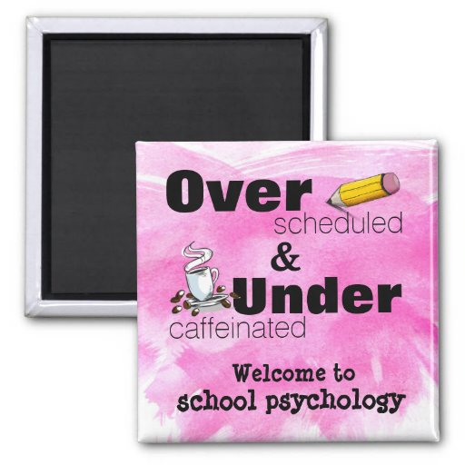 Welcome to School Psychology Magnet Refrigerator Magnets