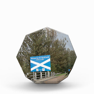 Welcome to Scotland - Anglo-Scottish Border Sign Award
