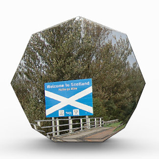 Welcome to Scotland - Anglo-Scottish Border Sign Awards