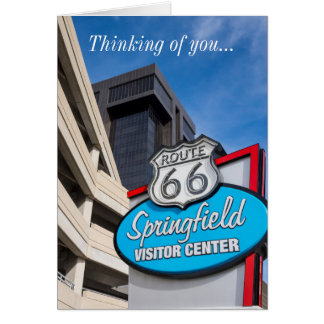 Welcome To Springfield Card