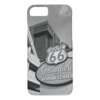 Welcome To Springfield Grayscale iPhone 7 Case