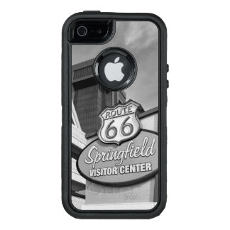 Welcome To Springfield Grayscale OtterBox Defender iPhone Case