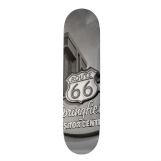 Welcome To Springfield Grayscale Skateboard Deck