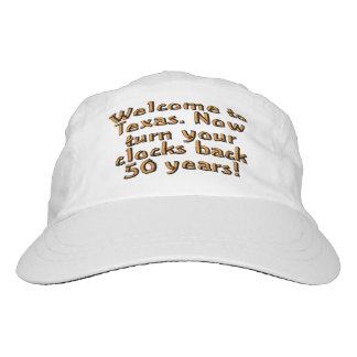 Welcome to Texas. Now turn your clocks back 50... Headsweats Hat