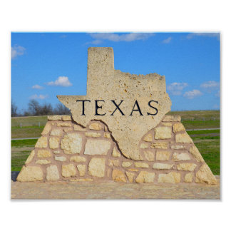 Welcome to Texas Poster