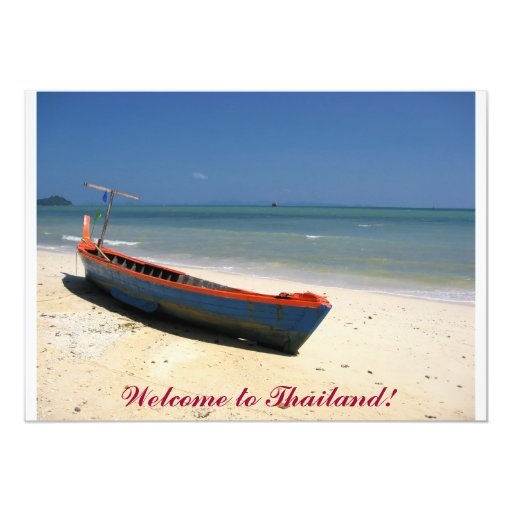 Welcome to Thailand! Card