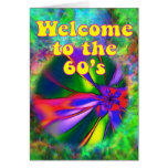 Welcome to the 60's card