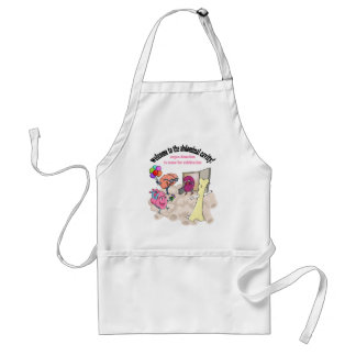 Welcome to the abdominal cavity! apron