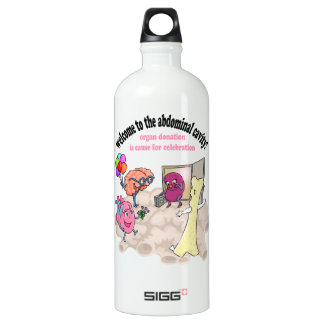 Welcome to the abdominal cavity! SIGG traveler 1.0L water bottle