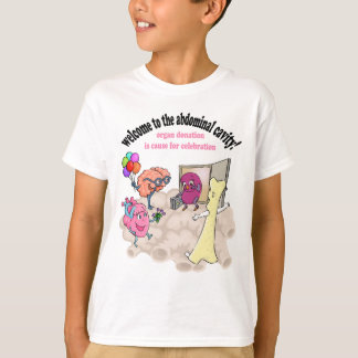 Welcome to the abdominal cavity! T-Shirt