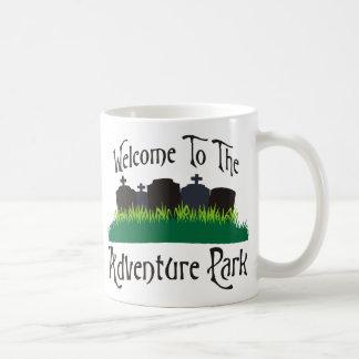 Welcome To The Adventure Park Coffee Mug