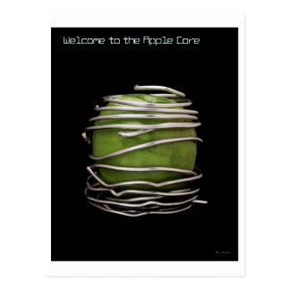 Welcome to the Apple  Core Postcard