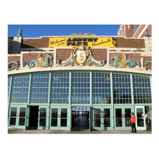 Welcome to the Asbury Park Boardwalk Postcard