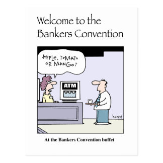 Welcome to the Bankers Convention card