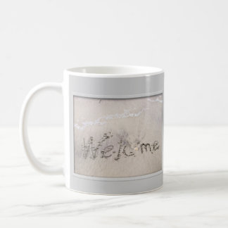 Welcome to the Beach - Customizable Coffee Mug