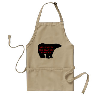 Welcome to the Bear Den Cookout Adult Apron
