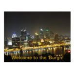 Welcome to the 'Burgh Postcard