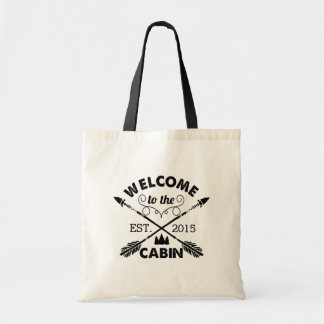 Welcome to the Cabin | Rustic Arrows Tote Bag