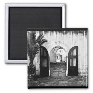 """""""Welcome to the Castle of Good Hope"""" JTG Art 2 Inch Square Magnet"""