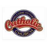Welcome to the Catholic Church Postcard