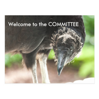 Welcome to the committee Post Card