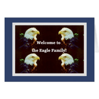 Welcome to the Eagle Family Greeting Cards