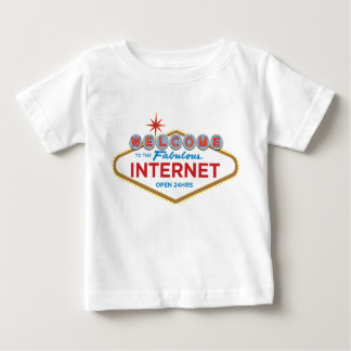 Welcome to the Fabulous Internet - open 24hrs T-shirts