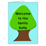 Welcome to the family Customizable Greeting Card