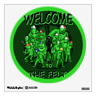 Welcome to the Felt Wall Sticker