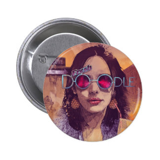 Welcome to the Fresh Doodle Pinback Button