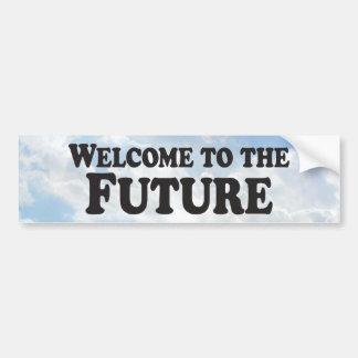 Welcome to the Future - Bumper Sticker