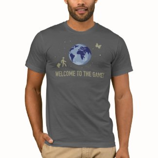 Welcome to the Game (on dark grey) T-Shirt