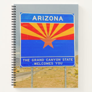 Welcome to the Grand Canyon State of Arizona Notebook