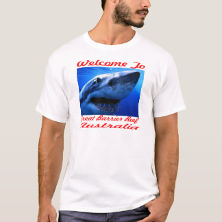 Welcome To The Great Barrier Reef Shark T-Shirt