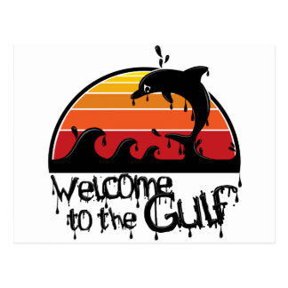Welcome to the gulf postcard