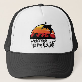 Welcome to the gulf trucker hat
