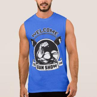 Welcome To The Gun Show - Bodybuilding Sleeveless Tee